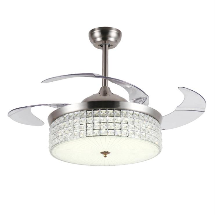 Led Ceiling Fan Lamp Lighting Light Remote Control Chandelier Fixtures