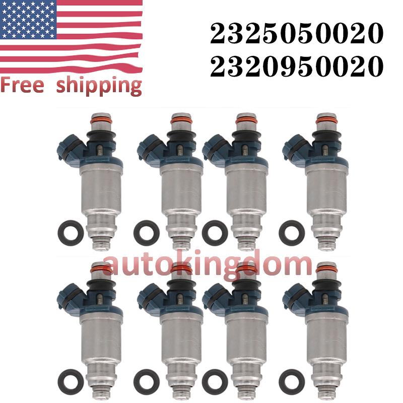 Set 8 OEM Fuel Injector 23250-50020 fit 92-97 Lexus SC400 //1993-1997 LS400 4.0L