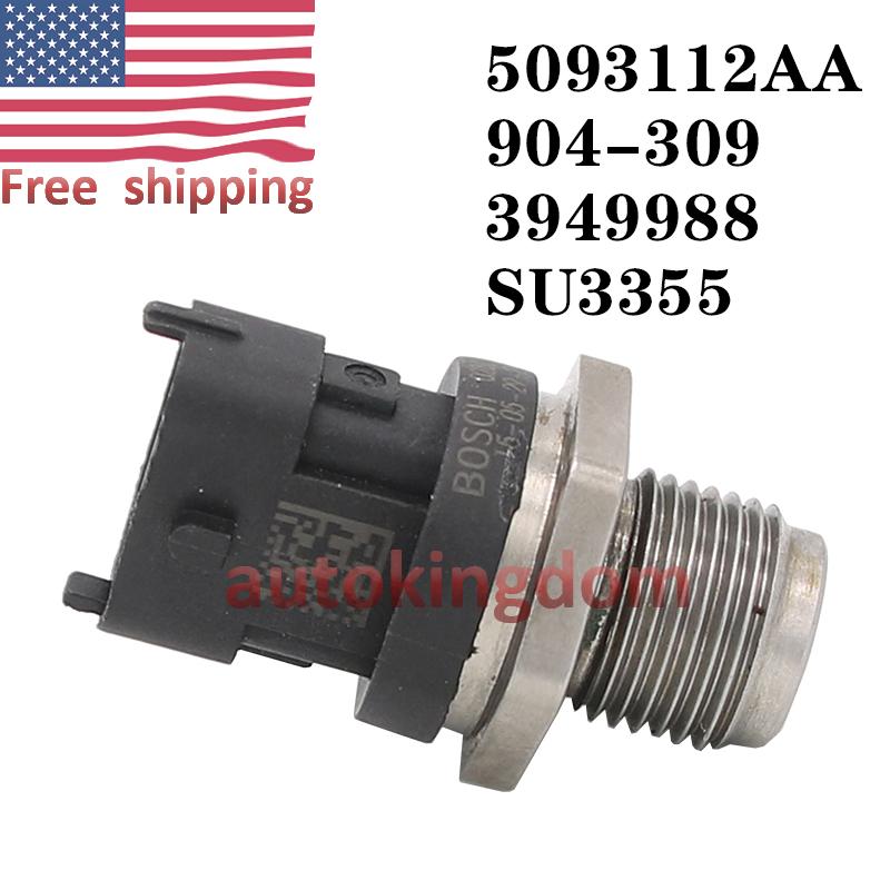 Fuel Rail Pressure Sensor For Dodge Cummins Diesel 5.9L 03-07 0281006425 OEM