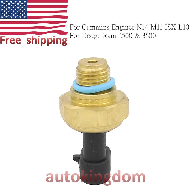 Engine Oil Pressure Sensor for 1998-2001 Dodge Ram 2500 3500 5.9 L6 Cummins N14 M11 ISX L10 Engines 4921511