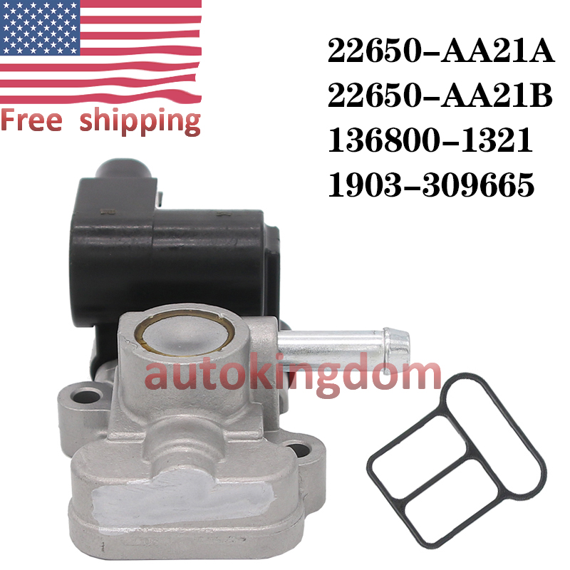 OEM 22650-AA21A 91176185 AC483 AC4096 Idle Air Control Valve Fit Subaru Outback