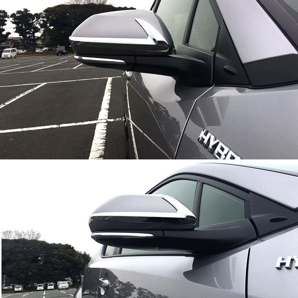 For Toyota C-HR CHR 2016 2017 Car Side Wing Rearview Mirror Trim Turn Signal