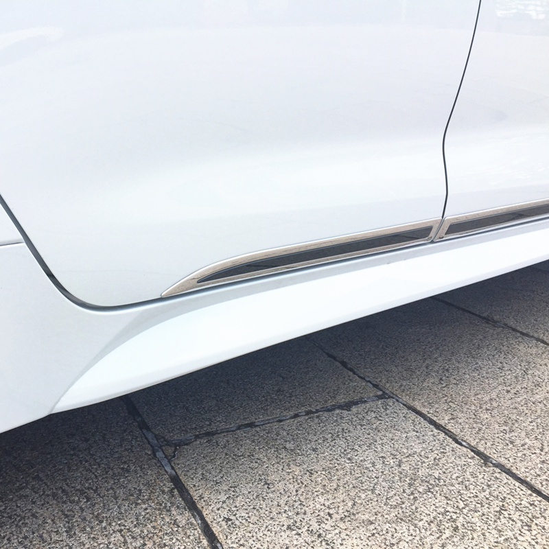 For Toyota Corolla 2014-2019 SAA Polished Fender Trim