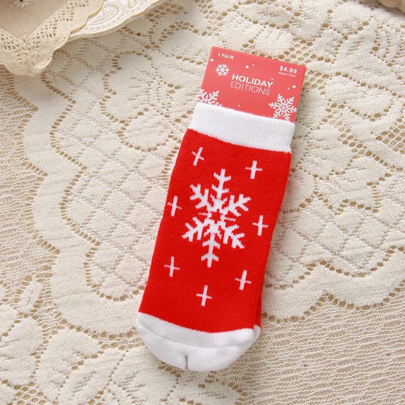 Kids Baby Christmas Warm Slipper Socks Novelty Stocking Filler ...