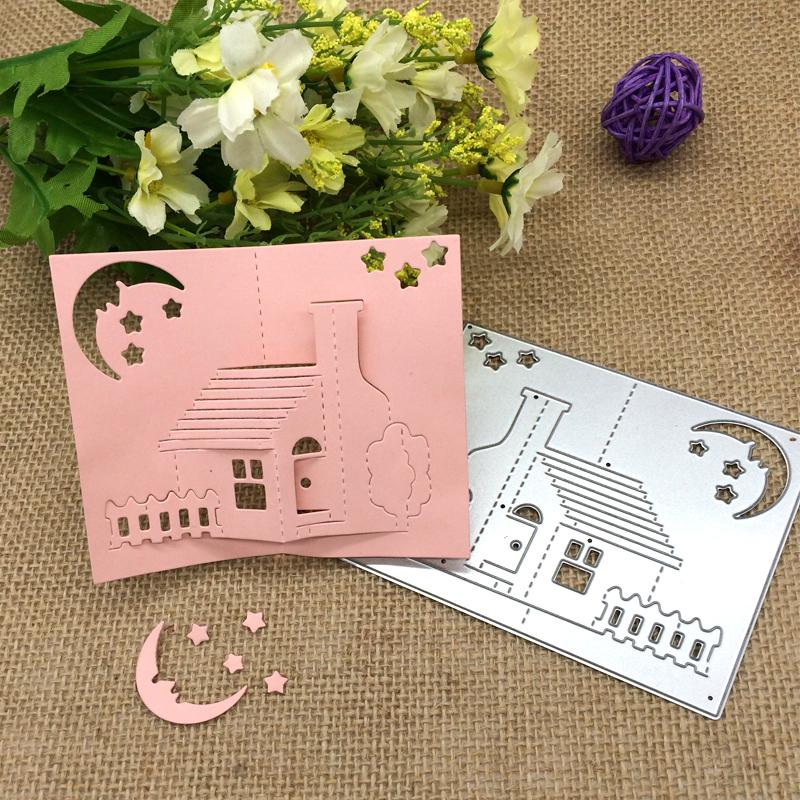 Greeeting Card Metal Cutting Dies Stencils Scrapbook Paper Album Embossing Craft
