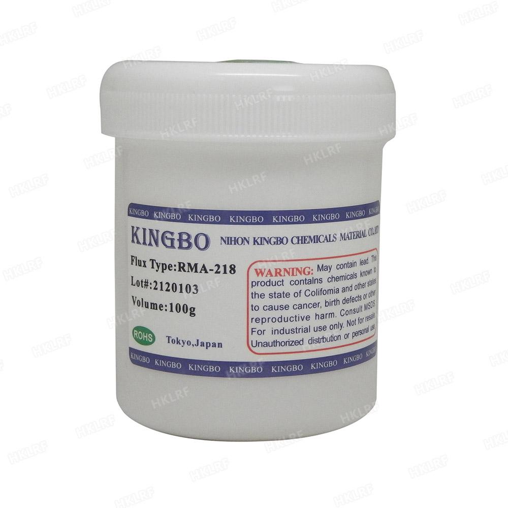 100g Kingbo RMA-218 Solder Flux Solder Paste for BGA PCB Repairing