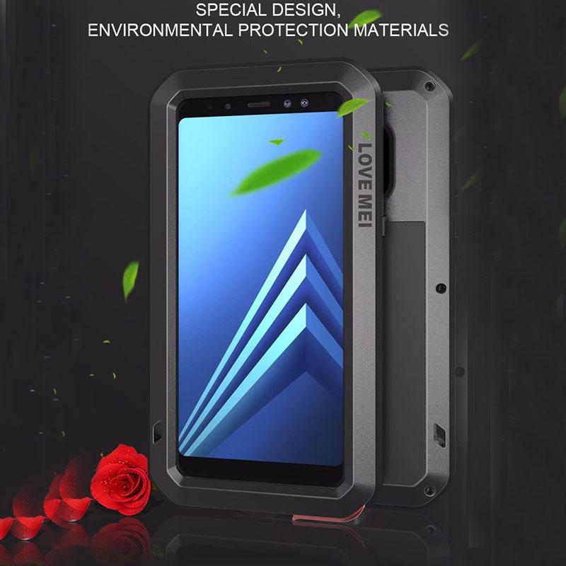 best authentic d89d3 708d3 Details about Waterproof Shockproof Aluminum Gorilla Metal Cover Case For  Samsung A8 A8 Plus