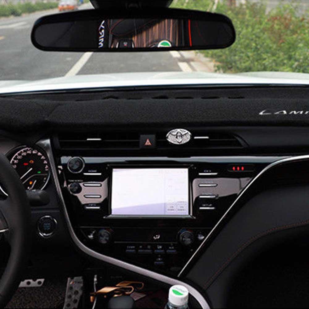 DashMat Car Dash Mat Cover Dashboard Car Interior Pad For TOYOTA CAMRY 2018