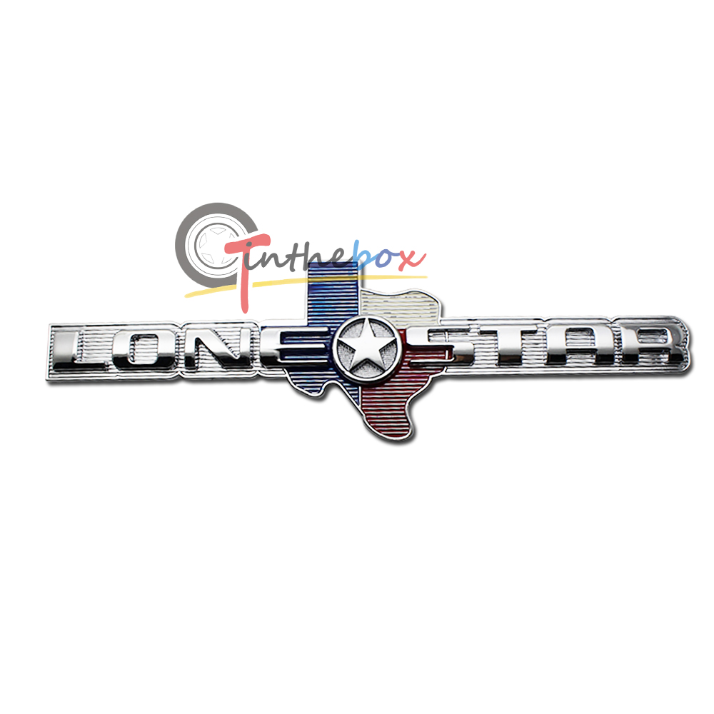 1  3d metal lone star texas edition for ram 1500 2500