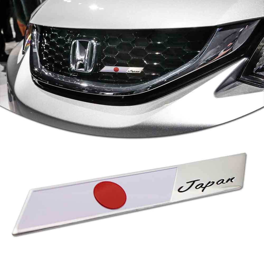 Japan Grille Badge for car truck grill mount Japanese flag