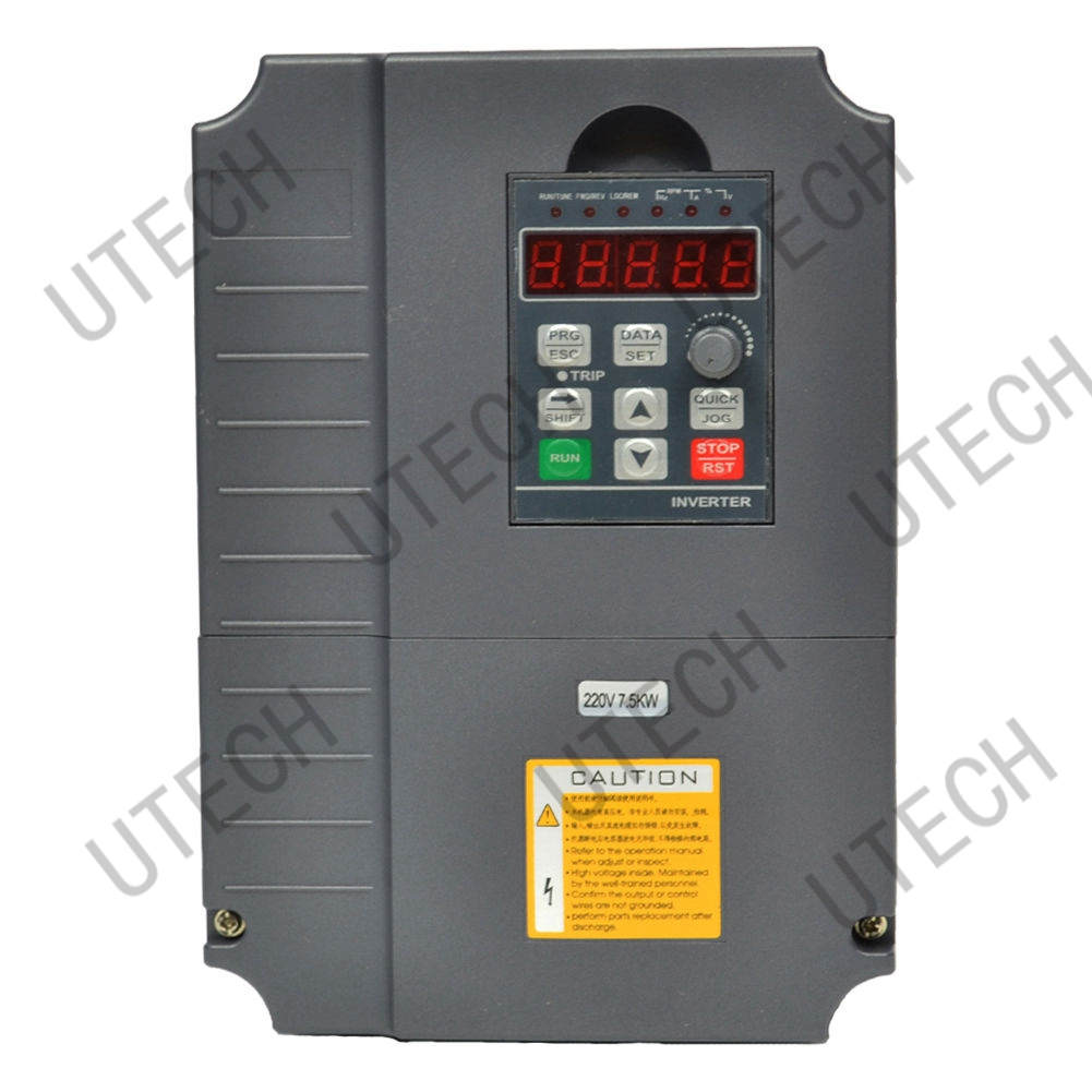 TOP QUALITY GT 5.5KW 7HP 15A 220V AC VFD VARIABLE FREQUENCY DRIVE INVERTER CE