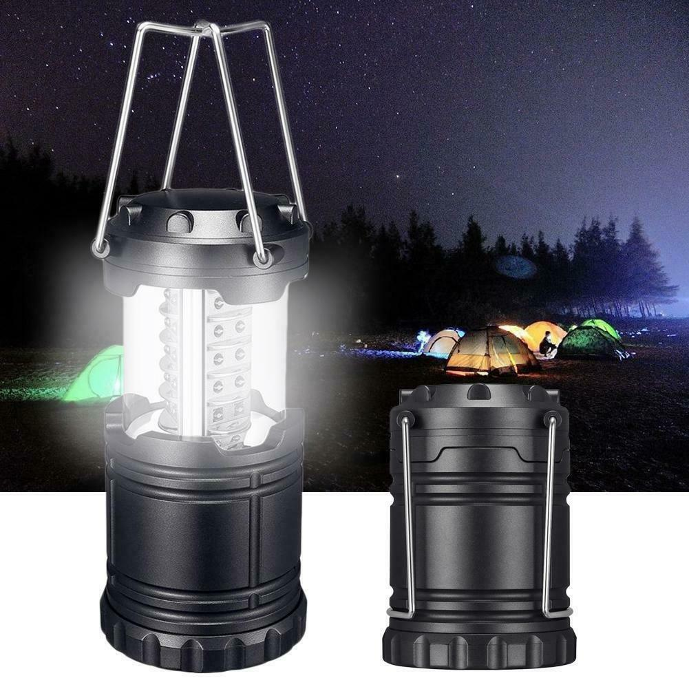 Rechargeable LED Camping Lantern Outdoor Tent Light Lamp /& Power for Phone UK MC