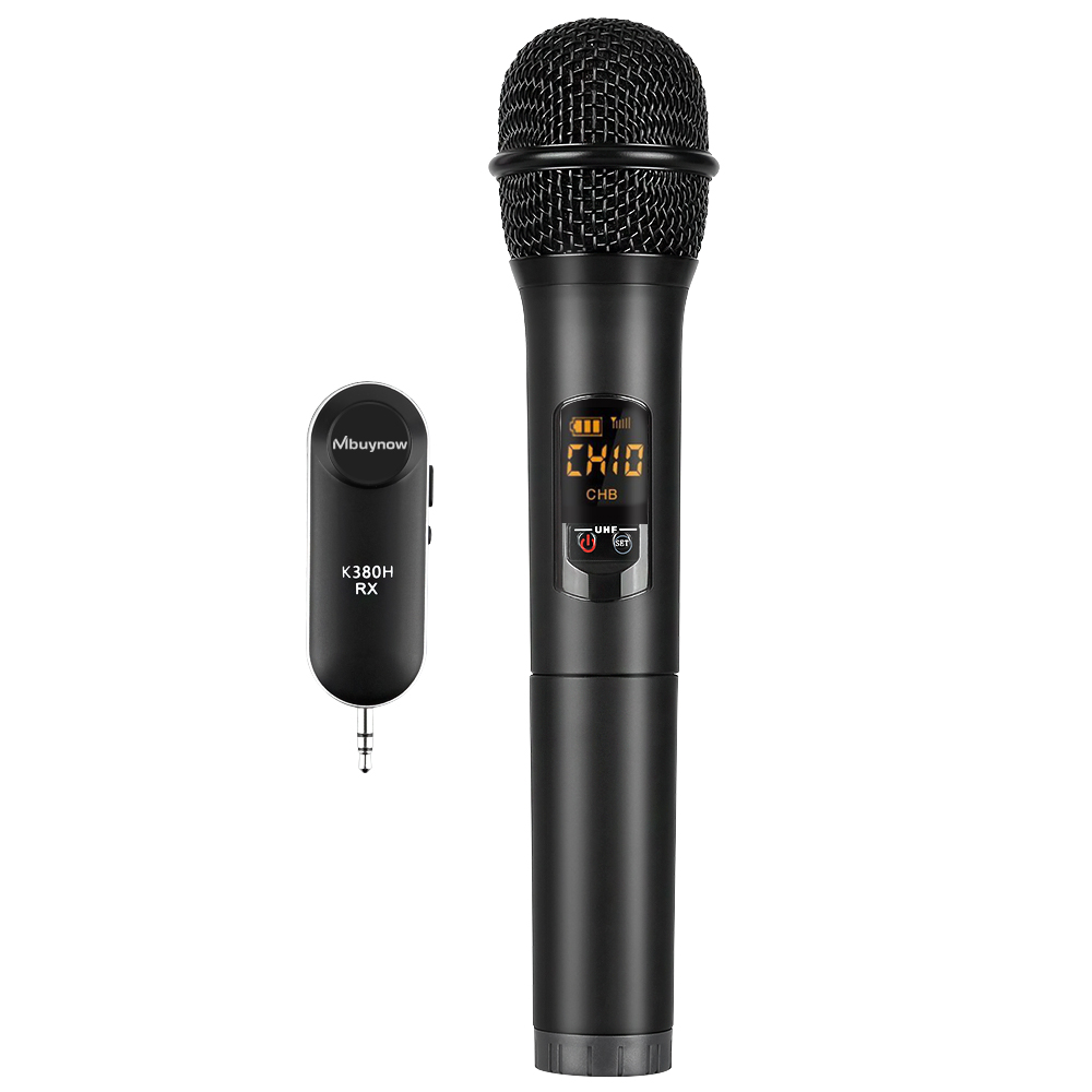 wireless bluetooth karaoke microphone speaker handheld usb player w receiver 6924517849645 ebay. Black Bedroom Furniture Sets. Home Design Ideas