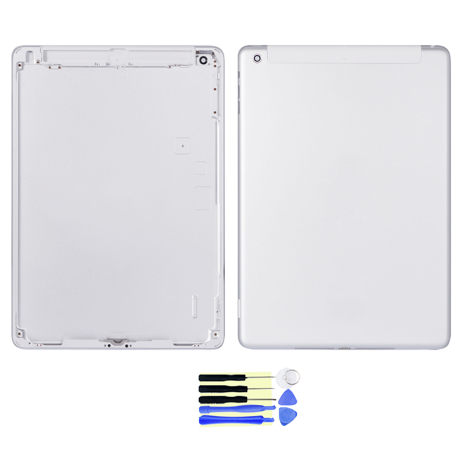 For Ipad 4 Wlan+Cellular MM A1460  Back Cover Battery Housing Door Repair parts