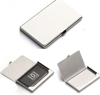 1pcs stainless steel pocket name credit id business card holder box 1pcs stainless steel pocket name credit id business card holder box case new colourmoves