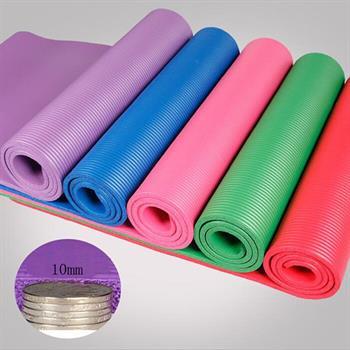 รายละเอียดของสินค้า Yoga Mat Meditation Exercise Pad 10MM Thick Non-slip Gym Fitness