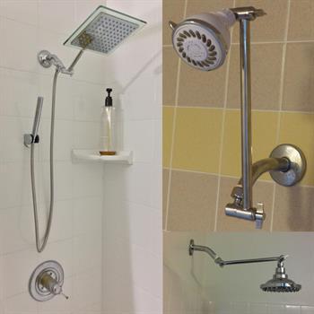 9inch adjustable shower
