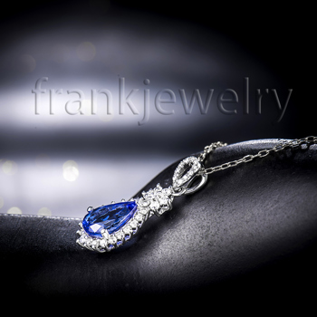 Fine Rings Gemstone Frank Natural Aaa Blue Tanzanite Oval & White Cz Sterling 925 Silver Halo Ring Size 6 Easy To Use